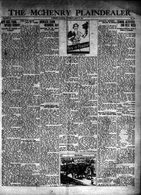 McHenry Plaindealer (McHenry, IL), 21 May 1931