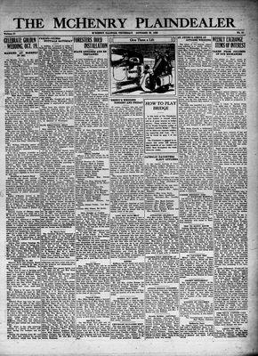 McHenry Plaindealer (McHenry, IL), 22 Oct 1931