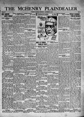 McHenry Plaindealer (McHenry, IL), 12 Nov 1931