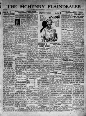 McHenry Plaindealer (McHenry, IL), 7 Jan 1932