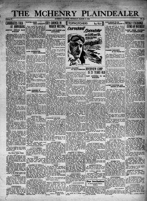 McHenry Plaindealer (McHenry, IL), 10 Mar 1932