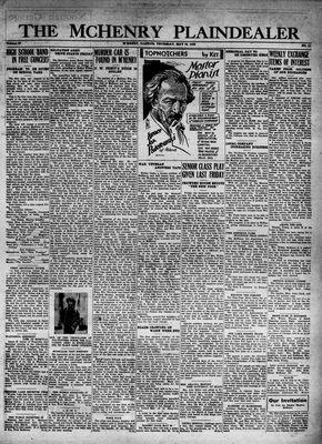 McHenry Plaindealer (McHenry, IL), 19 May 1932