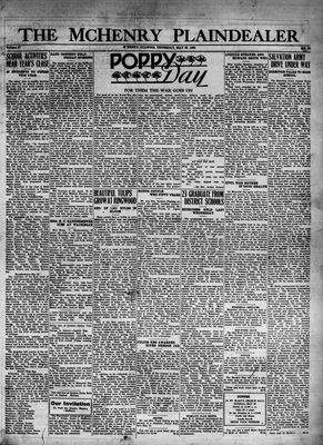 McHenry Plaindealer (McHenry, IL), 26 May 1932