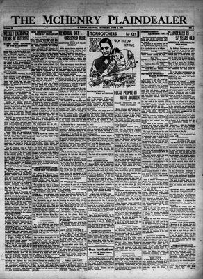 McHenry Plaindealer (McHenry, IL), 2 Jun 1932