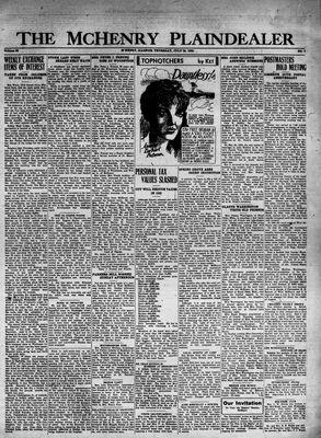 McHenry Plaindealer (McHenry, IL), 28 Jul 1932