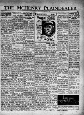 McHenry Plaindealer (McHenry, IL), 4 Aug 1932