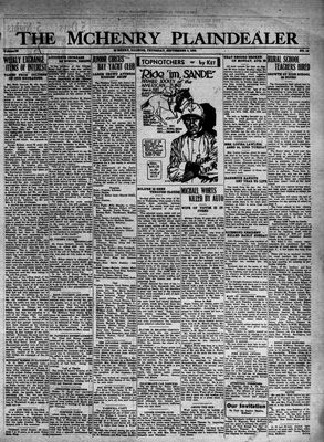 McHenry Plaindealer (McHenry, IL), 1 Sep 1932