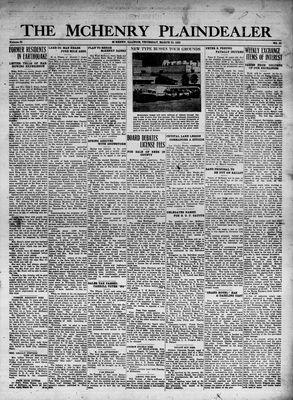 McHenry Plaindealer (McHenry, IL), 23 Mar 1933