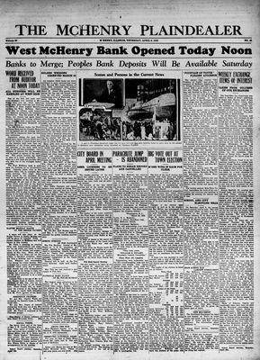 McHenry Plaindealer (McHenry, IL), 6 Apr 1933