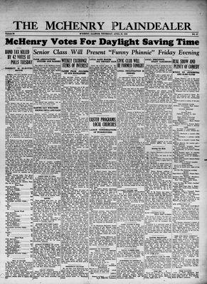 McHenry Plaindealer (McHenry, IL), 20 Apr 1933