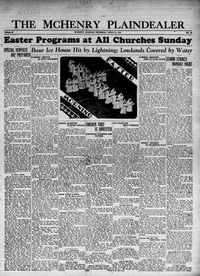 McHenry Plaindealer (McHenry, IL), 13 Apr 1933
