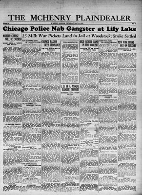 McHenry Plaindealer (McHenry, IL), 18 May 1933