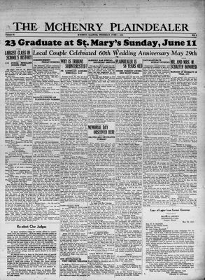 McHenry Plaindealer (McHenry, IL), 1 Jun 1933