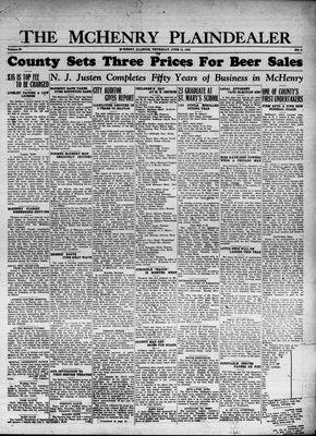 McHenry Plaindealer (McHenry, IL), 15 Jun 1933