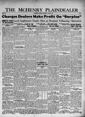 McHenry Plaindealer (McHenry, IL), 22 Jun 1933