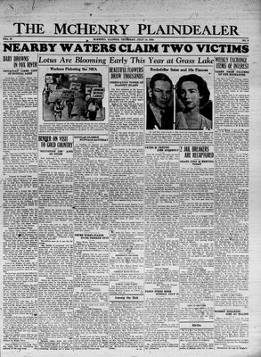 McHenry Plaindealer (McHenry, IL), 19 Jul 1934