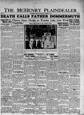 McHenry Plaindealer (McHenry, IL), 25 Oct 1934
