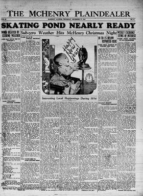 McHenry Plaindealer (McHenry, IL), 27 Dec 1934
