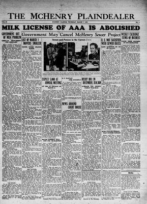 McHenry Plaindealer (McHenry, IL), 7 Mar 1935