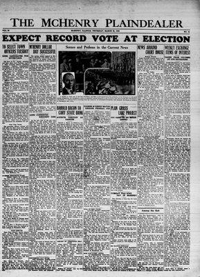 McHenry Plaindealer (McHenry, IL), 28 Mar 1935