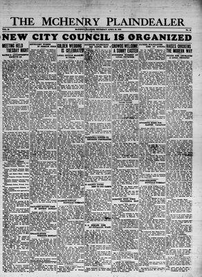 McHenry Plaindealer (McHenry, IL), 25 Apr 1935