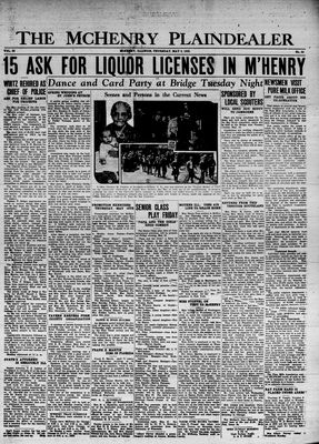 McHenry Plaindealer (McHenry, IL), 9 May 1935
