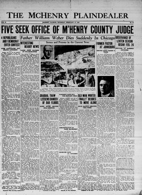 McHenry Plaindealer (McHenry, IL), 27 Feb 1936