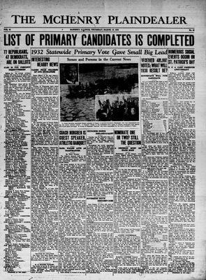 McHenry Plaindealer (McHenry, IL), 19 Mar 1936
