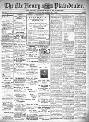 McHenry Plaindealer (McHenry, IL), 8 May 1895