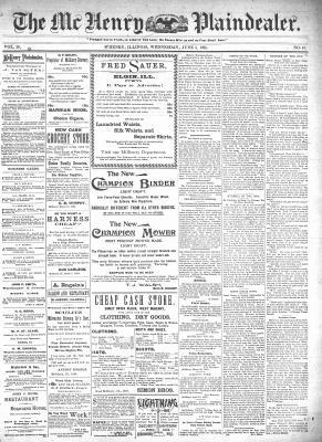 McHenry Plaindealer (McHenry, IL), 5 Jun 1895