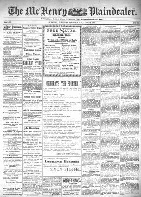 McHenry Plaindealer (McHenry, IL), 19 Jun 1895