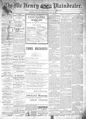 McHenry Plaindealer (McHenry, IL), 10 Jul 1895