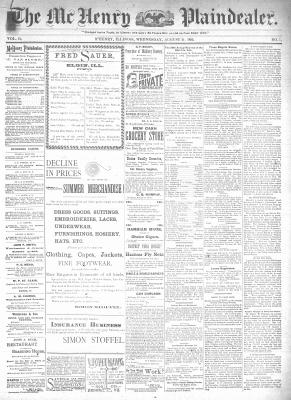 McHenry Plaindealer (McHenry, IL), 21 Aug 1895