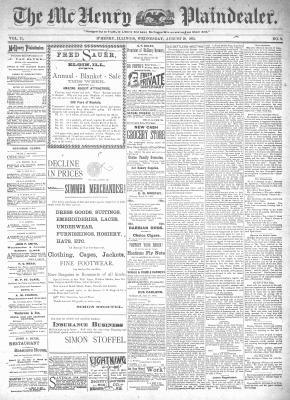 McHenry Plaindealer (McHenry, IL), 28 Aug 1895