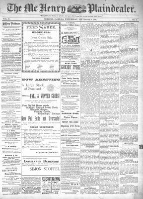 McHenry Plaindealer (McHenry, IL), 4 Sep 1895
