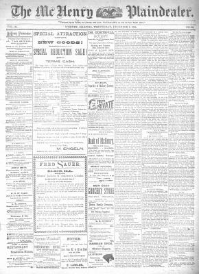 McHenry Plaindealer (McHenry, IL), 4 Dec 1885