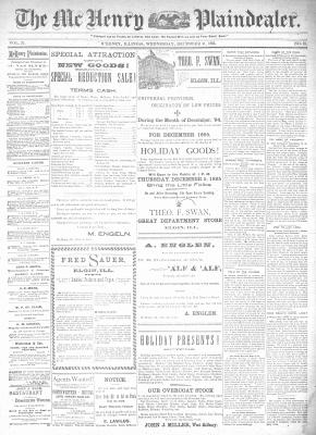 McHenry Plaindealer (McHenry, IL), 11 Dec 1895