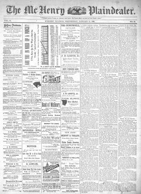 McHenry Plaindealer (McHenry, IL), 15 Jan 1896