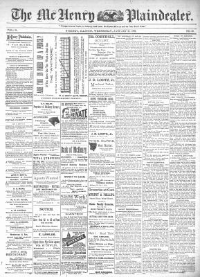 McHenry Plaindealer (McHenry, IL), 22 Jan 1896