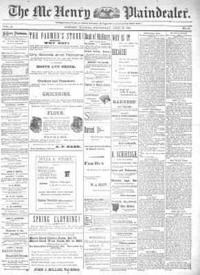 McHenry Plaindealer (McHenry, IL), 22 Apr 1896