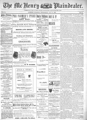 McHenry Plaindealer (McHenry, IL), 13 May 1896