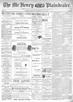 McHenry Plaindealer (McHenry, IL), 27 May 1896