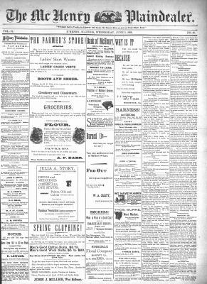 McHenry Plaindealer (McHenry, IL), 3 Jun 1896