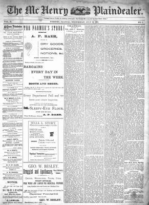 McHenry Plaindealer (McHenry, IL), 22 Jul 1896