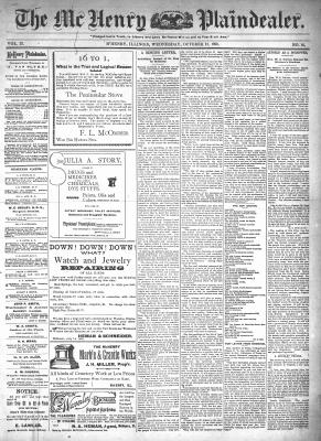 McHenry Plaindealer (McHenry, IL), 21 Oct 1896