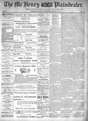 McHenry Plaindealer (McHenry, IL), 10 Mar 1897