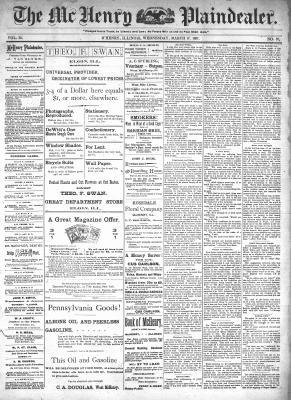 McHenry Plaindealer (McHenry, IL), 17 Mar 1897