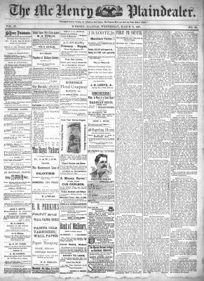 McHenry Plaindealer (McHenry, IL), 31 Mar 1897