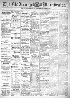 McHenry Plaindealer (McHenry, IL), 2 Feb 1898