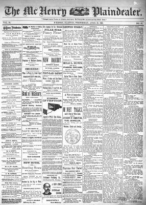 McHenry Plaindealer (McHenry, IL), 20 Apr 1898